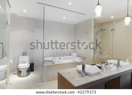 jacuzzi and  basin  in design