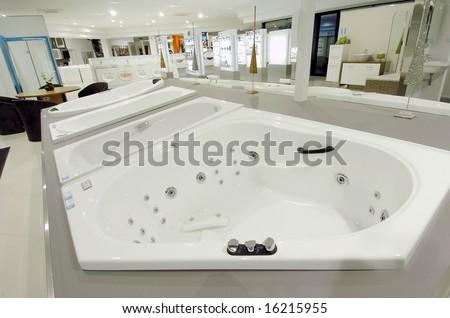 Jacuzzi in Bathroom showroom