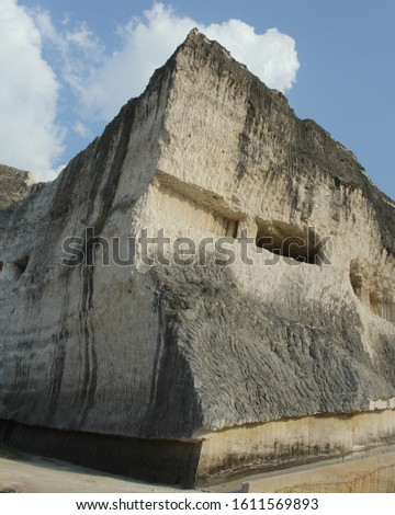 Jaddih hill is a limestone hill on the island of Madura. full of natural attractions and beautiful scenery.