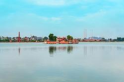 Jagmandir or Jag Mandir is a museum in island on Kishore Sagar lake in Kota city in Rajasthan state of India