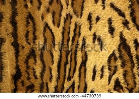 Jaguar leopard fantasy fabric fur texture background - stock photo