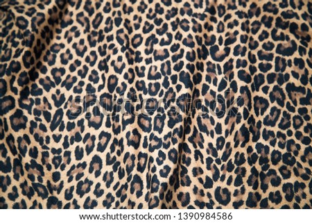 Jaguar pattern fabric wild print picture camouflage pattern background design.