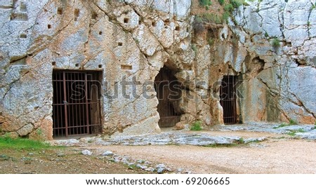 Jail of Socrates - Athens, Greece