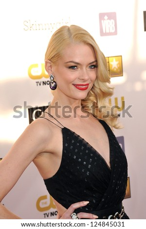 Jaime King at the 18th Annual Critics' Choice Movie Awards at Barker Hanger, Santa Monica Airport. January 10, 2013  Santa Monica, CA Picture: Paul Smith