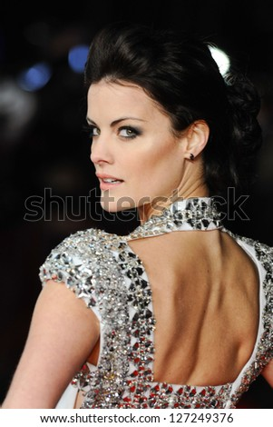 "Jaimie Alexander arriving for premiere of ""The Last Stand"" at the Odeon West End, Leicester Square, London. 22/01/2013 Picture by: Steve Vas"