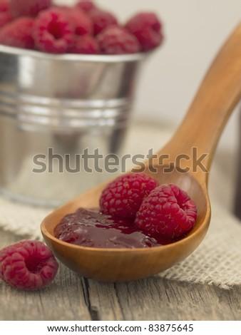jam of raspberries