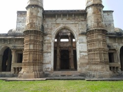 Jama Masjid, Champaner – Unesco world heritage site. Champaner, Gujarat.