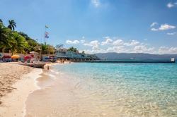 Jamaica beach near Montego Bay.
