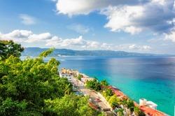 Jamaica island, Montego Bay, Caribbean Sea.