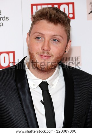 James Arthur arriving at the The Amy Winehouse foundation ball held at the Dorchester hotel, London. 20/11/2012 Picture by: Henry Harris