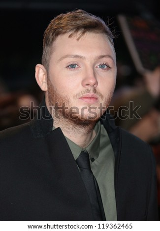 "James Arthur arriving for the ""The Twilight Saga: Breaking Dawn Part 2"" premiere at the Odeon Leicester Square, London. 14/11/2012 Picture by: Henry Harris"