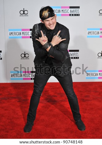 James Durbin at the 2011 American Music Awards at the Nokia Theatre L.A. Live in downtown Los Angeles. November 20, 2011  Los Angeles, CA Picture: Paul Smith / Featureflash