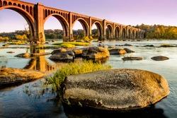 James River Bridge in Richmond, VA