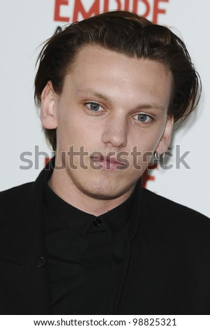 Jamie Campbell Bower arriving for the Empire Film Awards 2012 at the Grosvenor House Hotel, London. 25/03/2012 Picture by: Steve Vas / Featureflash