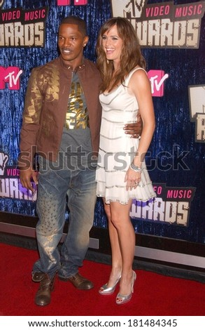 Jamie Foxx Jennifer Garner At MTV Video Music Awards VMAs 2007
