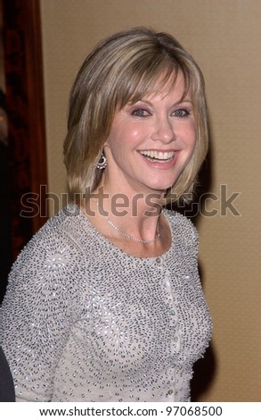 Jan 15, 2005; Los Angeles, CA:  OLIVIA NEWTON JOHN at the G'Day LA Penfolds Gala honoring Australian talent.