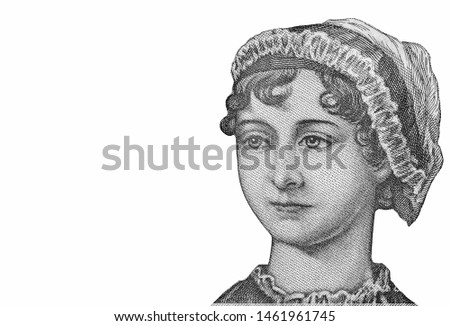 Photo of  Jane Austen, Great Britain 10 Pounds 2017 polymer Banknotes.
