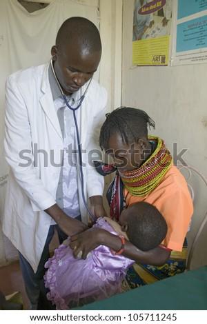 january 2007   a doctor checks...