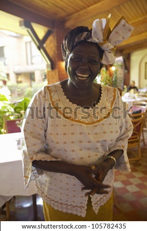 JANUARY 2005 - Nobel Peace Prize winner, Wangari Maathai at Norfolk hotel meeting in Nairobi, Kenya, Africa