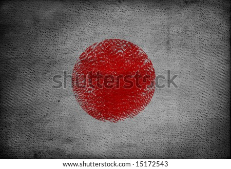 japanese flag picture. stock photo : Japan flag on