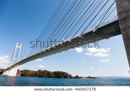 Japan, Ishikawa, bridge #460607278