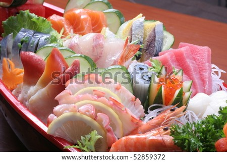 japan sashimi set mix
