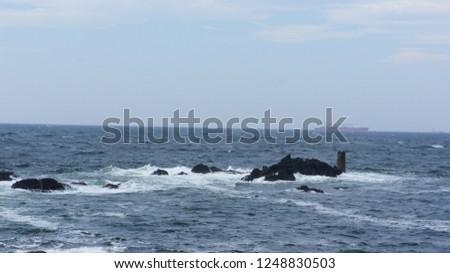 japane chiba myouganemisaki cape sea #1248830503