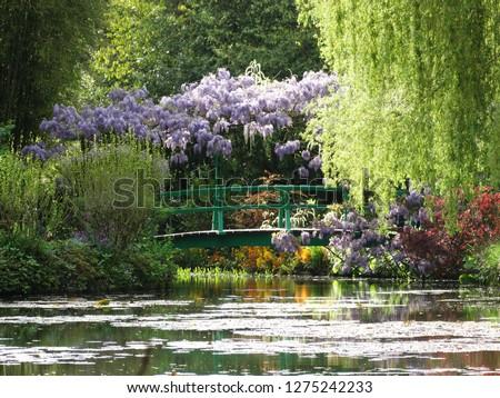 Japanese bridge Monet Giverny
