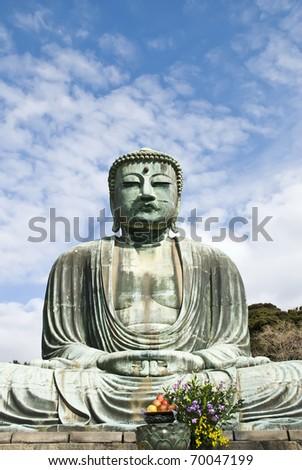 Japanese Buddha,Kamakura Daibutsu, Great Buddha