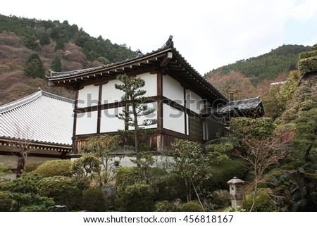 Japanese building #456818167