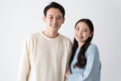 Japanese couple on good terms