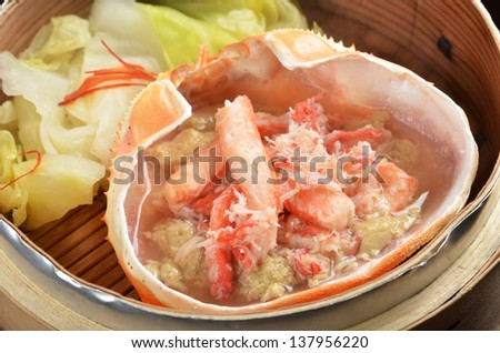 Japanese crab dishes