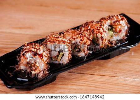 Japanese cuisine cuisine sushi rolls