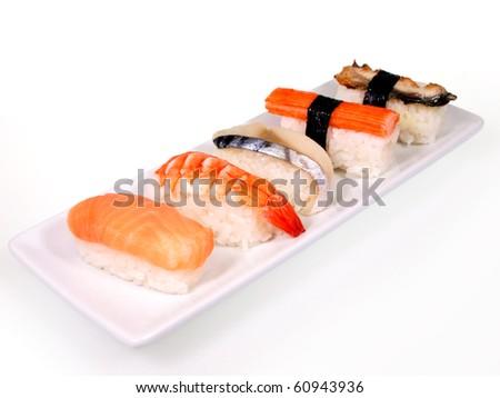 Japanese cuisine Sushi set