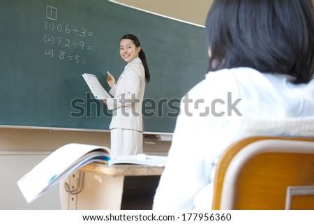 Japanese Female teachers to teach