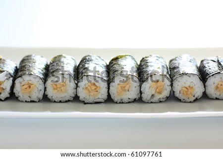 Japanese fermented soybean Sushi