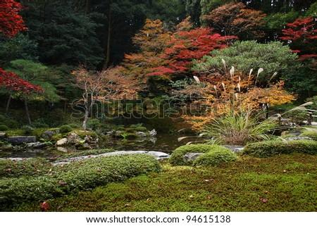 Japanese garden in Nanzen-ji temple (Kyoto)