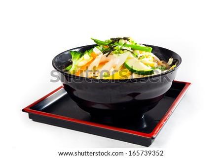 Japanese iceberg salad bowl