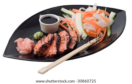 Japanese inspired salmon