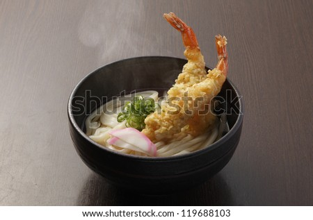 Japanese noodles - stock photo
