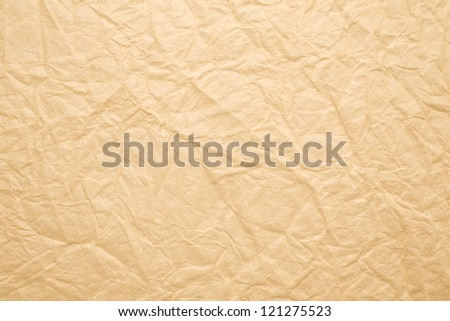 Japanese paper of wrinkles