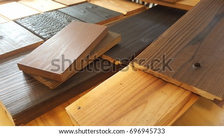 Japanese Pine Wood For Furniture And Floor Finishing.Interior Design Select  Material For Idea.