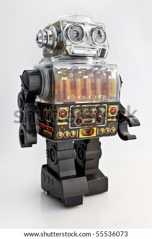 Japanese Retro Toy Robot