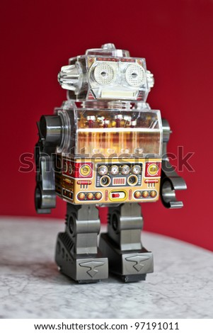 Japanese Retro Vintage Battery Operated Toy Robot