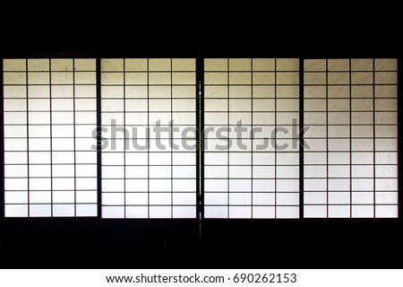 japanese sliding screen panels...