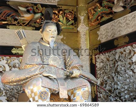japanese statue in Nikko