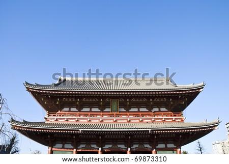 Japanese temple,Sensoji Temple