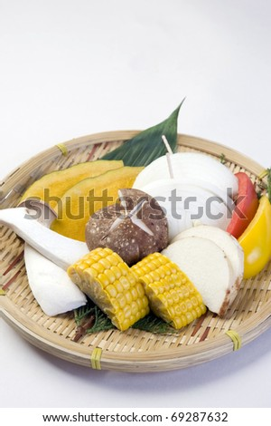 Japanese vegetables 1