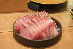 Japanese Yellowtail or Buri Sashimi