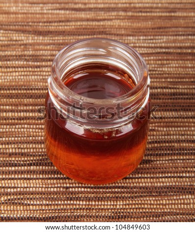 jar full of honey